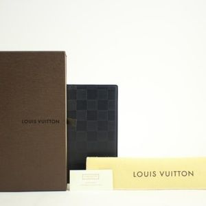 Louis Vuitton Damier Infini Pocket Agenda Cover